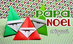 Papá Noel de papel para tu árbol navideño