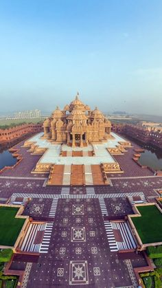 Temple d'Akshardham Delhi  India