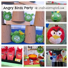 angry+bird+birthday+party+ideas | Craft, Interrupted: Angry Birds Party!