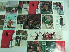 24 original Smirnoff Vodka magazine ads 1959 to 2003. The largest advertisement is approximately 8 x 10 inches. Each ad inconspicuously date...$24.99