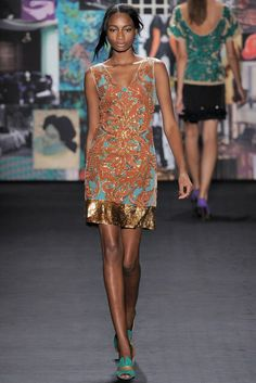 Tracy Reese | Fall 2012 Ready-to-Wear Collection | Vogue Runway