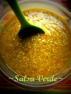 Salsa Verde - Hispanic Kitchen.