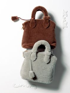 Louis Vuitton Fur Bags