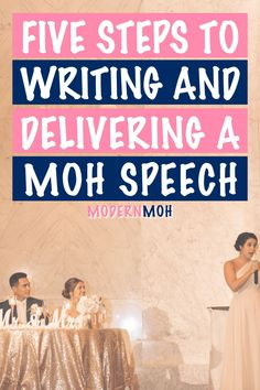 How to write a maid of honor speech that will totally wow! Follow our simple 5-step method to writing and delivering an epic MOH speech, including how to finish with a bang! #howtowriteamaidofhonorspeech #maidofhonorspeechforbestfriend #maidofhonorspeechforsister #ModernMaidofHonor #ModernMOH Maid Of Honor Speech, Matron Of Honour, Virtual Hug, How We Met, Fancy Words, Wedding Toasts, Perfection Quotes, Bachelorette Weekend, Great Friends
