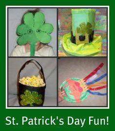 St. Patrick's Day Ideas & Crafts  www.hickory.macaronikid.com