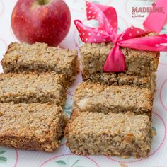 Apple Bars, Raw Vegan, Meatloaf, Baby Food Recipes, Banana Bread, Recipies, Deserts, Sweets, David