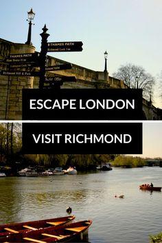 Escape Central London & Explore Richmond! Click through to read more on my travel blog :)