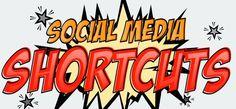 50 raccourcis clavier pour les réseaux sociaux #mediasociaux #reseauxsociaux