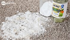 A Simple, Effective Remedy For Pet Stains On Carpets - One Good Thing by JilleePinterestFacebookPinterestFacebookPrintFriendly #CatSprayingOdorRemoval