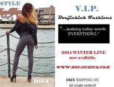 Boujichick Fashions want to bring you up to a VIP Status by looking Fabulous!  Http://www.boujichick.com