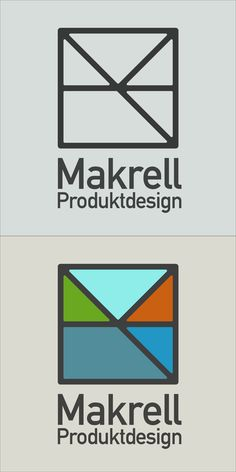 Makrell Produktdesign logo by August Lundberg
