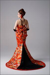 Asian inspired Haute Fashion