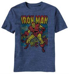 Retro Iron Man Shirt