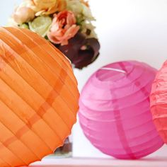 Round Paper Lanterns by Beau-coup