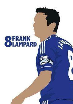 Frank Lampard #cfc #legend #chelseafc Chelsea Wallpapers, Chelsea Fc Wallpaper, Premier League Goals, Football Players, Football Art, Stamford Bridge, Chelsea Football, Soccer World, Caricatures