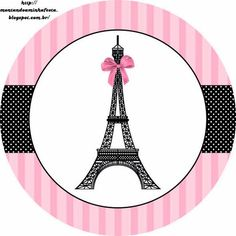 Paris: Free Printable Toppers: