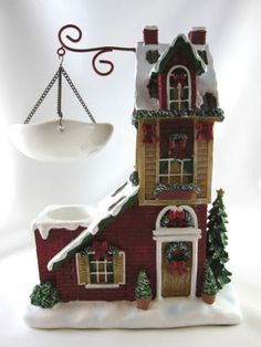 Yankee Candle Christmas House Wax Tart Warmer