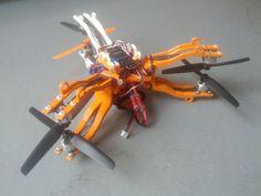 Hexacopter Y6 by aslobodn.