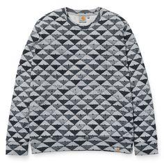 Carhartt WIP X' Quilt Sweatshirt http://shop.carhartt-wip.com:80/ch/women/sweats/sweatshirts/I018023/x-quilt-sweatshirt