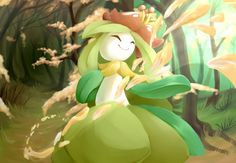 11 Lilligant by SkittyStrawberries.deviantart.com on @deviantART