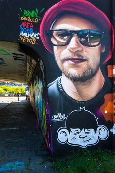 Mural by Sipros at Step in the Arena 2015 in Eindhoven, Netherla