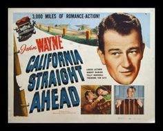 A John Wayne trucking movie! California Straight Ahead! (1937)