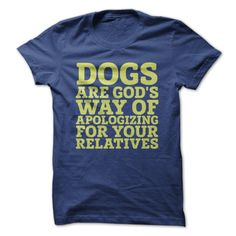 purchase of this t-shirt will feed 7 shelter dogs - from iheartdogs.com - what a great idea!