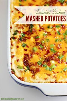 Loaded Baked Mashed Potatoes Recipe - Home Cooking Memories#_a5y_p=996807#_a5y_p=996807#_a5y_p=996807