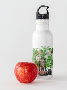'Urban Chique' Water Bottle by Cherie Roe Dirksen Gifts For Teens, Gifts For Mom, Great Gifts, School Accessories, Stainless Steel Bottle, Print Store, School Bags, Back To School, Fine Art Prints