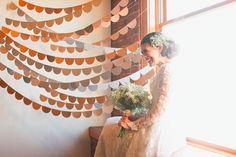 kaylee & marc   married. vintage bride.