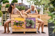 Which one would you choose? #TheGreenPockets #Yellow #Lavender Outdoor Ideas, Lavender, Planters, Bloom, Pockets, Yellow, Wall, Green, Planter Boxes
