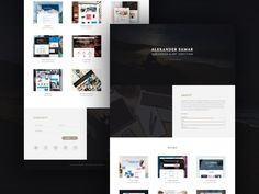 Portfolio website HTML. HTML/CSS Themes. $15.00