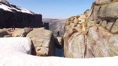 Hiking Kjerag Rocks