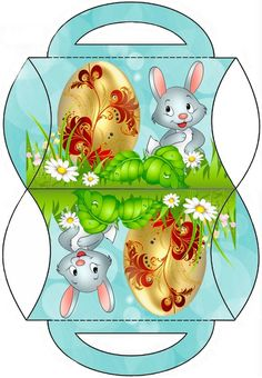 Gold egg n bunny