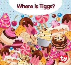 Tiggs moves with stealth and sometimes he can't be seen! Can you spot him in this yummy scene?