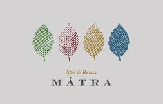 A Mátra Spa & Relax hotel arculatterve. Logo Spa, Hotel Logo, Logo Restaurant, Logo Design Love, Spa Design, Spa Business Cards, Business Logo, Spa Branding, Branding Design