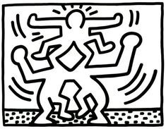 Keith Haring Untitled 1988