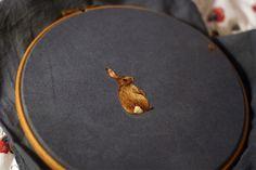 Chloe Giordano Creates Tiny Embroidered Animals