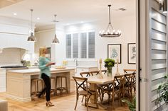The Hamptons inspired home of The Block All Stars winners Phil Rankine and Amity Dry.