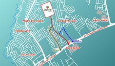 Localización mystic valley Mystic Valley, Villa, Map, Projects, Maps, Fork, Villas