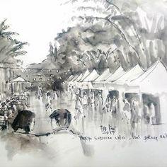 "251 Suka, 2 Komentar - Valentina Anna Piuma (@_valentinanna23_) di Instagram: ""Inconfondibile. Concetto spaziale, 1962. . . #luciofontana #concettospaziale #artwork…"" City Sketch, Insta Art, Ink, Drawings, Sketches, Painting, Painting Art, Draw, Draw"