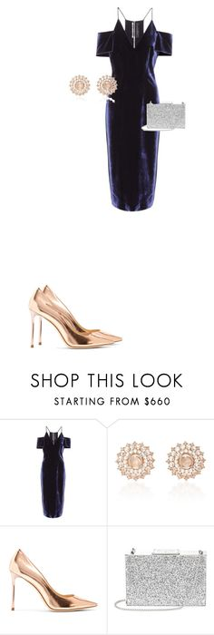 """""""Untitled #82"""" by fedescognamiglio ❤ liked on Polyvore featuring Roland Mouret, Nam Cho, Jimmy Choo, Aspinal of London, men's fashion and menswear"""