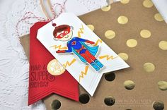 Super Birthday Tag by Dawn McVey for Papertrey Ink (March 2016)