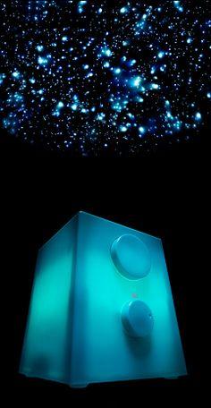 【カラーLEDで異空間に!】バスプラネタリウムカラー ブルー
