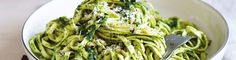 Walnut Pesto, Mushroom & Rocket Linguine recipe from Simple & Fresh Dinner Box