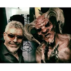 Dennys Ilic - I really got to find some new friends in LA  These guys are fun and all but there's always a hefty price to pay for every little favor ...  #Purgatory #NevillePage #SFX #VFX #MAKEUP #DEMON #TV #hollywood  @nevillepage2 @melissakwagner @gilarse  @tjscottpictures @imvictoriapratt @prior2art @chadmichaelward_photographer @drelyndavis