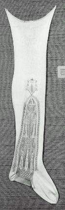 Clocked stockings, Spanish or Italian, 1650-1750 @ Museum of Fine Arts Boston