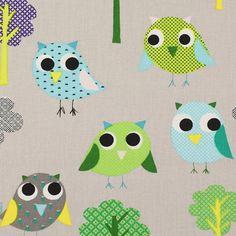 Owly 5 - Bomull - ljusgrått