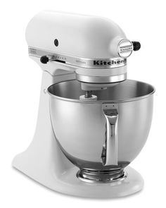 KitchenAid Artisan Stand Mixer - a must-have if you love baking