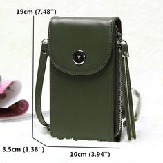 Hot-sale designer Vintage PU Leather Universal Shoulder Phone Bag For iPhone Samsung Huawei Xiaomi Online - NewChic Mobile
